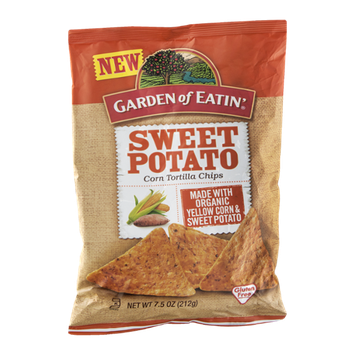 Garden of Eatin' Corn Tortilla Chips Sweet Potato