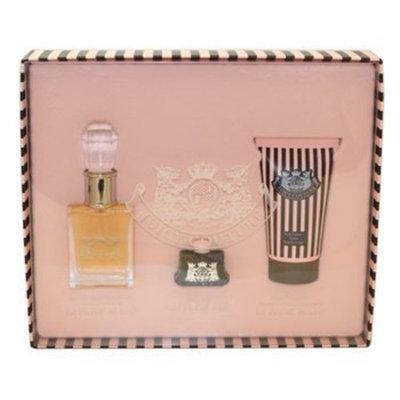 JUICY COUTURE by Juicy Couture Gift Set for WOMEN: EAU DE PARFUM SPRAY 1 OZ & BODY SORBET 1.7 OZ & EAU DE PARFUM .17 OZ MINI