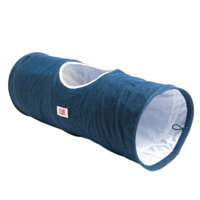 KONGA Denim Tunnel Cat Toy