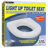 Ideaworks JB5633 Light Up Toilet Seat