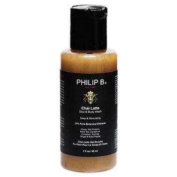 Philip B. Chai Latte Soul & Body Wash, 2 fl oz