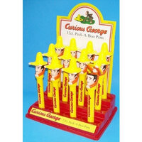 12 Curious George Large Peek-A-Boo Pens in Display - Would Make a Nice Party Favor