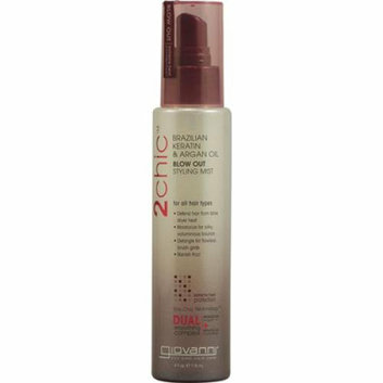 Giovanni Hair Products Giovanni 2chic Blow Out Styling Mist with Brazilian Keratin and Argan Oil 4 fl oz