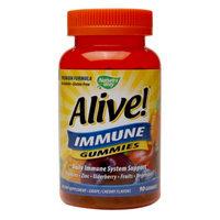 Alive! Immune Gummies, Grape/Cherry, 90 ea