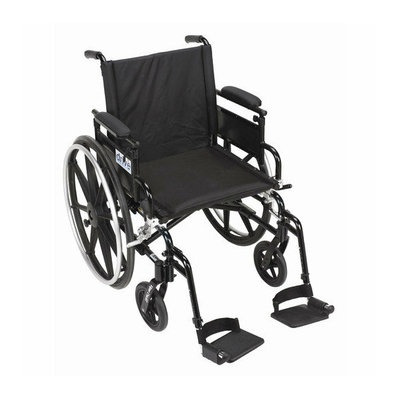 Drive Medical Viper Plus GT Wheelchair in Black