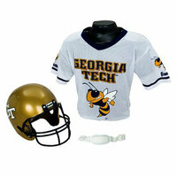Franklin Sports Georgia Tech Helmet/Jersey set- OSFM 5-9