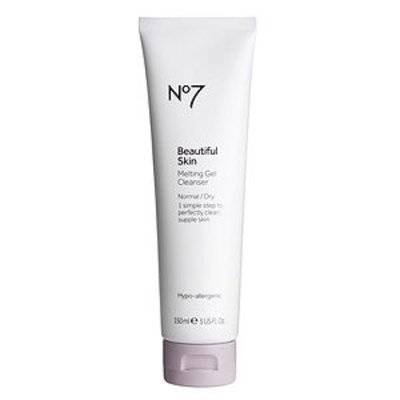 Boots No7 Beautiful Skin Melting Gel Cleanser, Normal / Dry, 5 fl oz