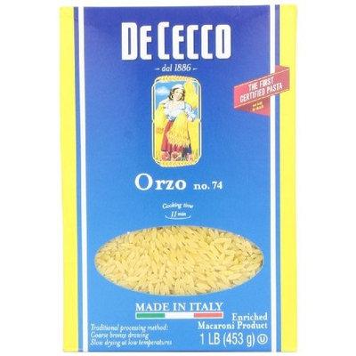 De Cecco Orzo, 16-Ounce Boxes (Pack of 10)