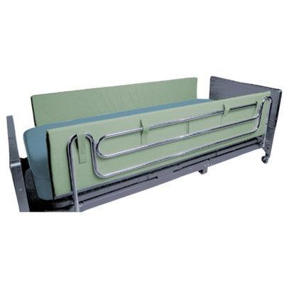 Mason Medical Foam Side Rail Bumper Pads, Green, 48 Inch, 1 ea