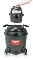 DAYTON 1VHF9 Wet/Dry Vacuum, 6.5 HP, 20 gal, 120V