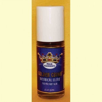 Four Elements Herbals - Golden Crown Botanical Elixir for Mature Skin - 1 oz.