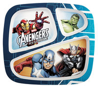 Zak Designs Avengers Assemble Kid's Sectioned Feeding Plate - ZAK DESIGNS, INC./INFANT DIVISION