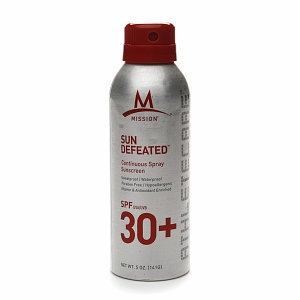 MISSION Athletecare Sun Defeated Continuous Spray Sunscreen SPF30+