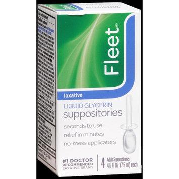 FLEET LIQUID GLYCERIN SUPPOSITORIES ADULT