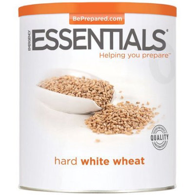 Emergency Essentials Food Hard White Wheat Large Can 73 oz