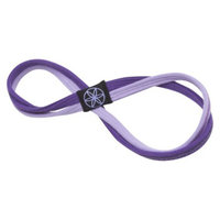 Gaiam Purple Dual Grip Headband