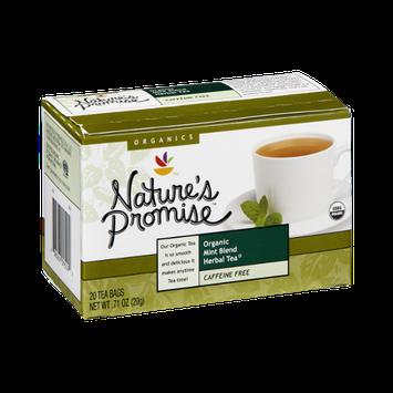 Nature's Promise Organics Organic Mint Blend Herbal Tea Bags - 20 CT