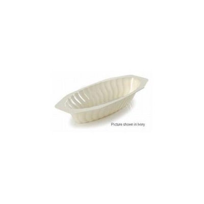 Fineline Settings 215-WH Flairware 15 oz White Serving Boat