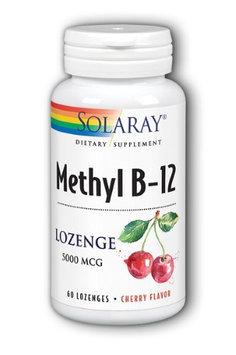 Methyl B-12 5000 Cherry Solaray 60 Lozenge