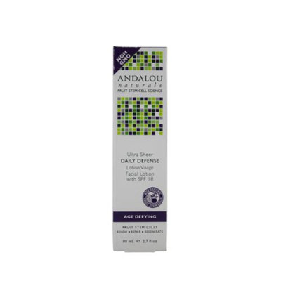 Andalou Naturals Daily Defense with SPF 18 Facial Lotion