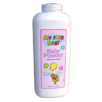My Fair Baby Baby Powder 14 Oz (Value Pack of 12)