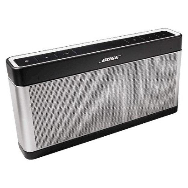 Bose SoundLink Bluetooth speaker III - Silver