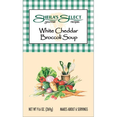 Sheilas Select 5501600407 White Cheddar Broccoli Soup - Case of 6