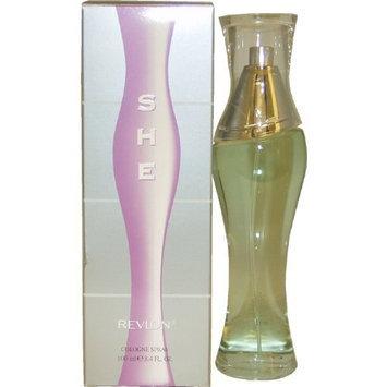 She for Women By Revlon Cologne Spray, 3.4-Ounce