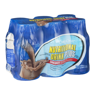 CareOne Nutritional Drink Plus Chocolate - 6 CT