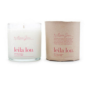 By Rosie Jane Leila Lou Candle
