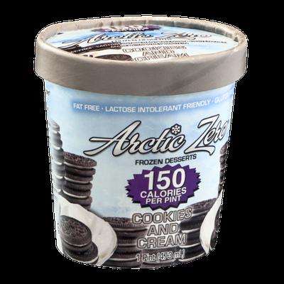 Arctic Zero Frozen Dessert Cookies And Cream