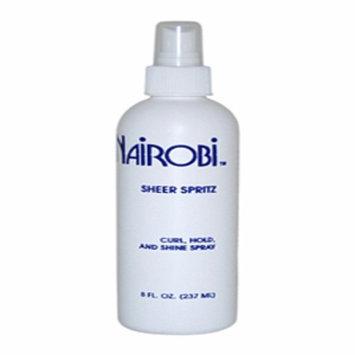 Nairobi Sheer Spritz Culr Hold And Shine Spray for Unisex - 8 oz