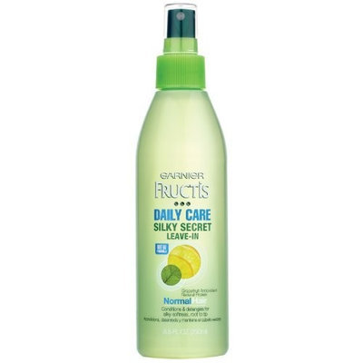 Garnier Silky Secret Leave-In Daily Care Conditioner, 8.5 Fluid Ounce