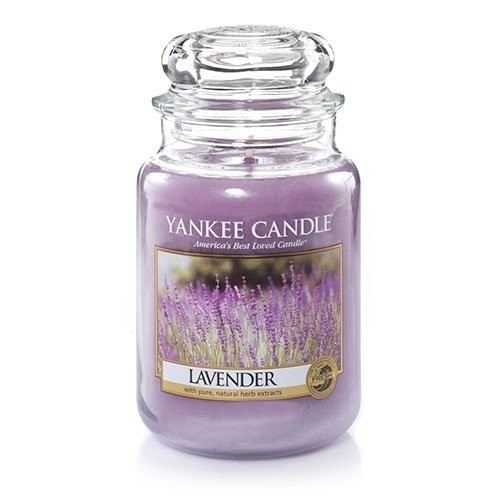 Yankee Candle 22-Ounce Jar Candle, Large, Lavender