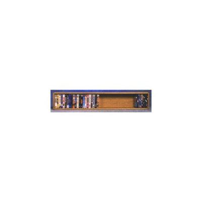 Wood Shed Wall Mount DVD Storage (Dark)