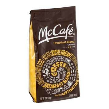 McCafe Ground Coffee Breakfast Blend Light