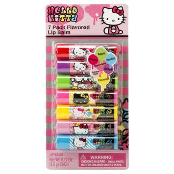 Hello Kitty 7 Pack Flavored Lip Balm