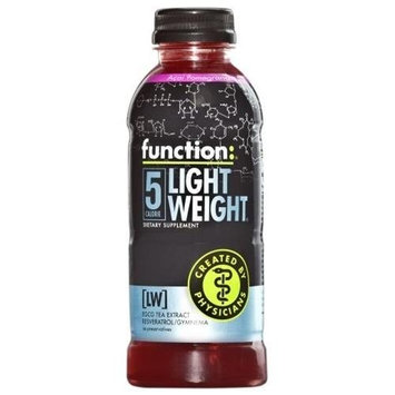 Function Drinks Function: Light Weight Acai Pomegranate Drink, 16.9 Ounce Bottle (Pack of 12)