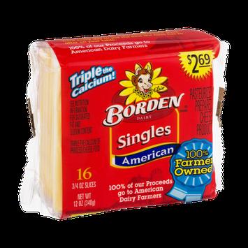 Borden Singles American Cheese