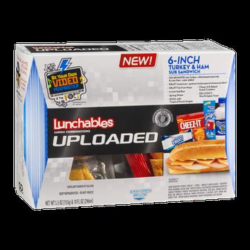 Lunchables Uploaded 6-Inch Turkey & Ham Sub Sandwich