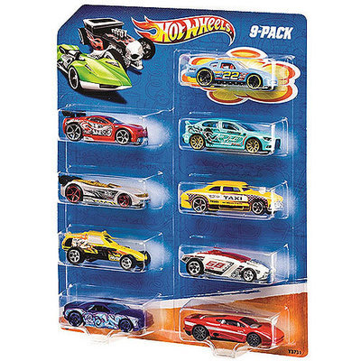 Hot Wheels, 9-Pack