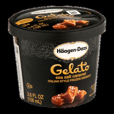 Haagen-Dazs Gelato Sea Salt Caramel