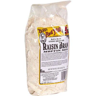 Bob's Red Mill Muffin Mix Raisin Bran