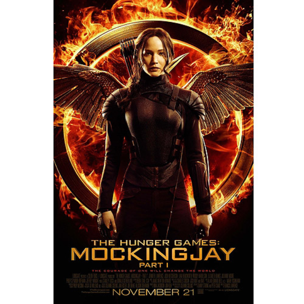 The Hunger Games MockingJay - Part 1 (Blu-ray + Digital HD) (Widescreen)