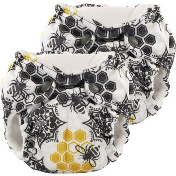 Kanga Care 2-pk. Lil Joey All-in-One Cloth Diapers - Newborn (Unity)