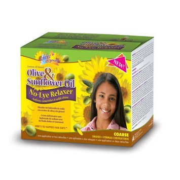 Sofn'free n'pretty Olive & Sunflower Oil No-Lye Relaxer Super