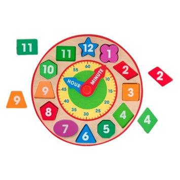 Melissa & Doug Shape Sorting Clock