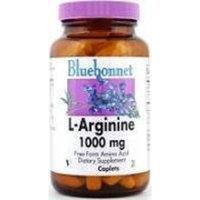 Bluebonnet L-Arginine 1000 mg Vitamin Capsules, 50 Count
