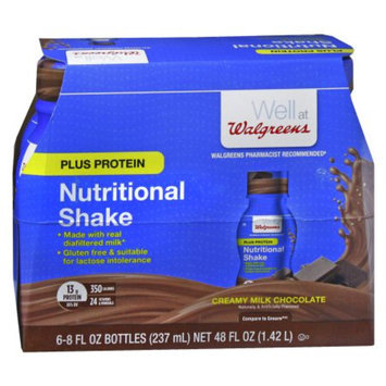 Walgreens Complete Nutritional Shake Plus Protein Milk Chocolate