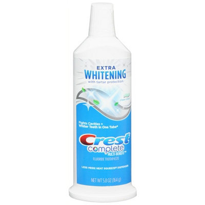 Crest Extra Whitening with Tartar Protection Fluoride Toothpaste